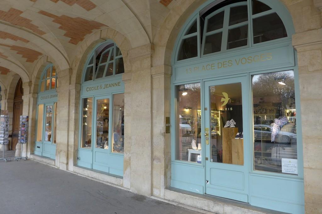 I Was In - The shop Paris place des Vosges