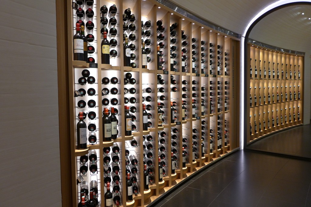 Wine Cellar at La Grande Epicerie de Paris