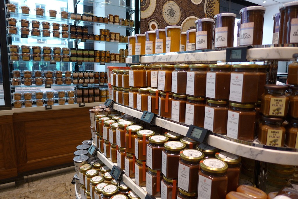 La Grande Epicerie de Paris - jams for breakfast