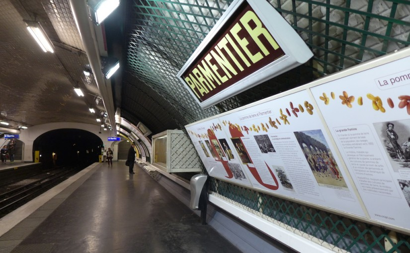 Metro Station of the Month: Parmentier (line 3)