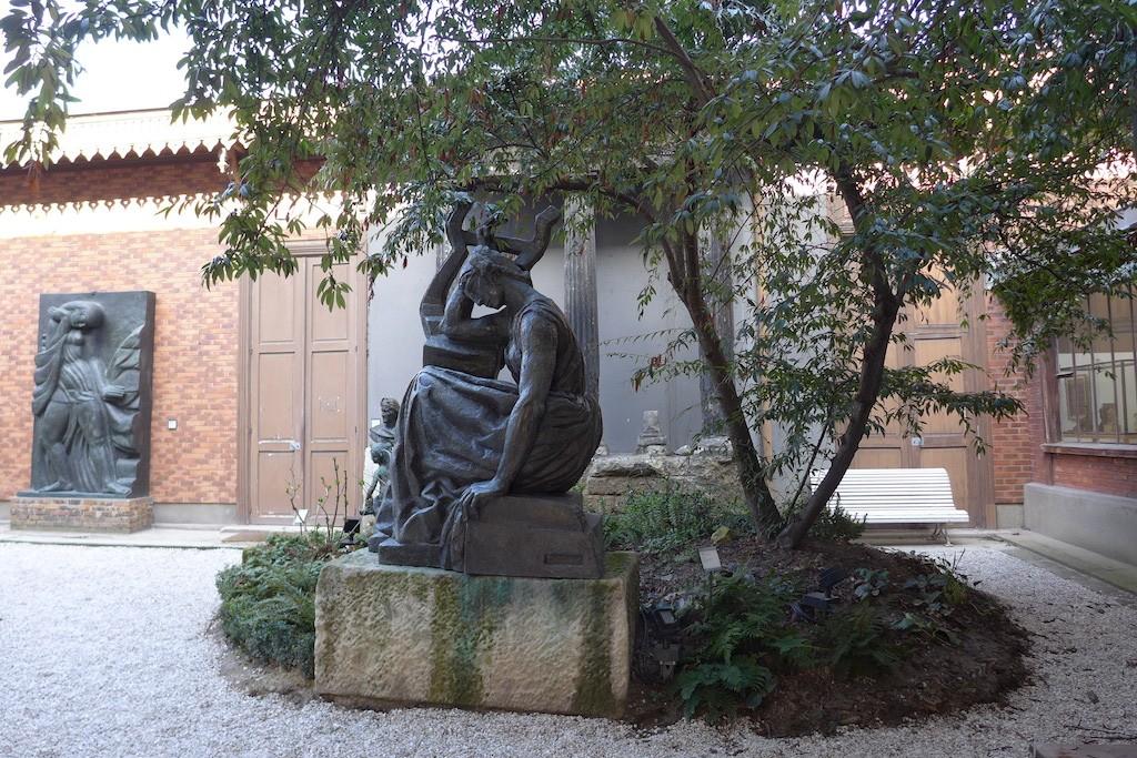 Musee Bourdelle Paris_inner garden