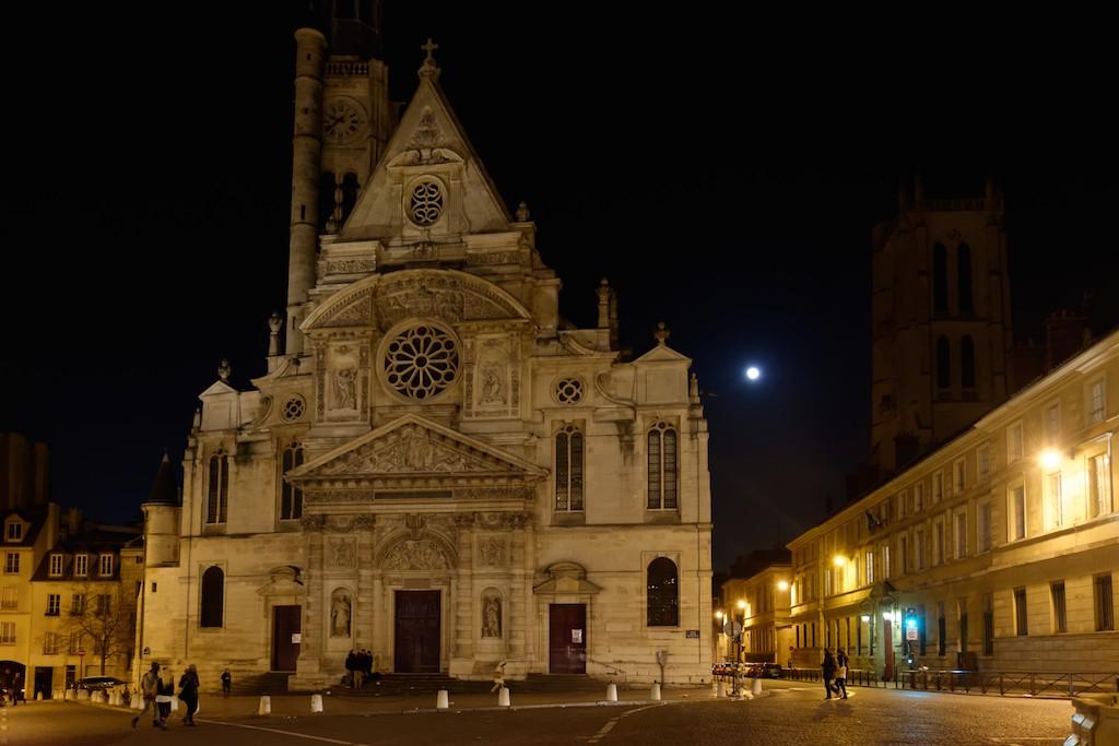 Saint Etienne du Mont- Paris place du Pantheon