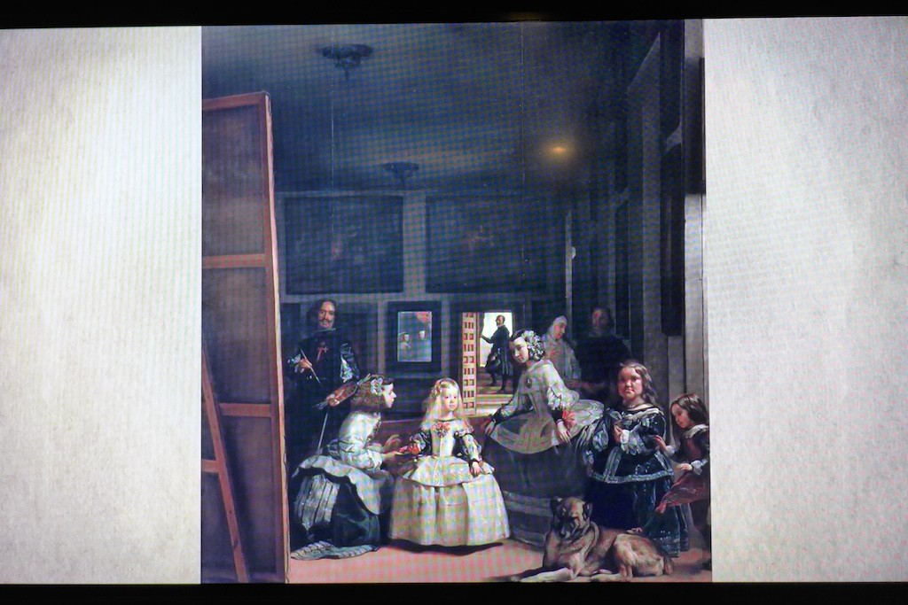 exhibition Velazquez Paris-film les menines
