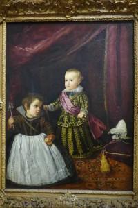 exhibition Velazquez Paris-portrait de Baltasar Carlos