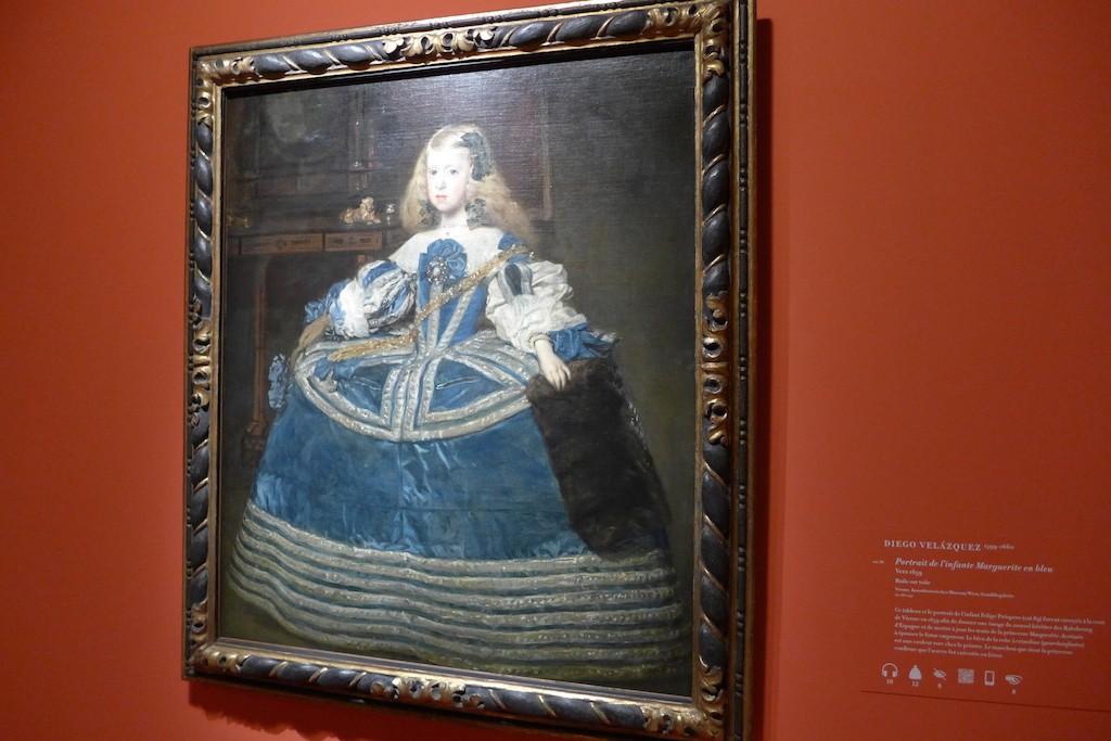 exhibition Velazquez Paris-portrait de marguerite