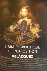 exhibition Velazquez Paris-shop