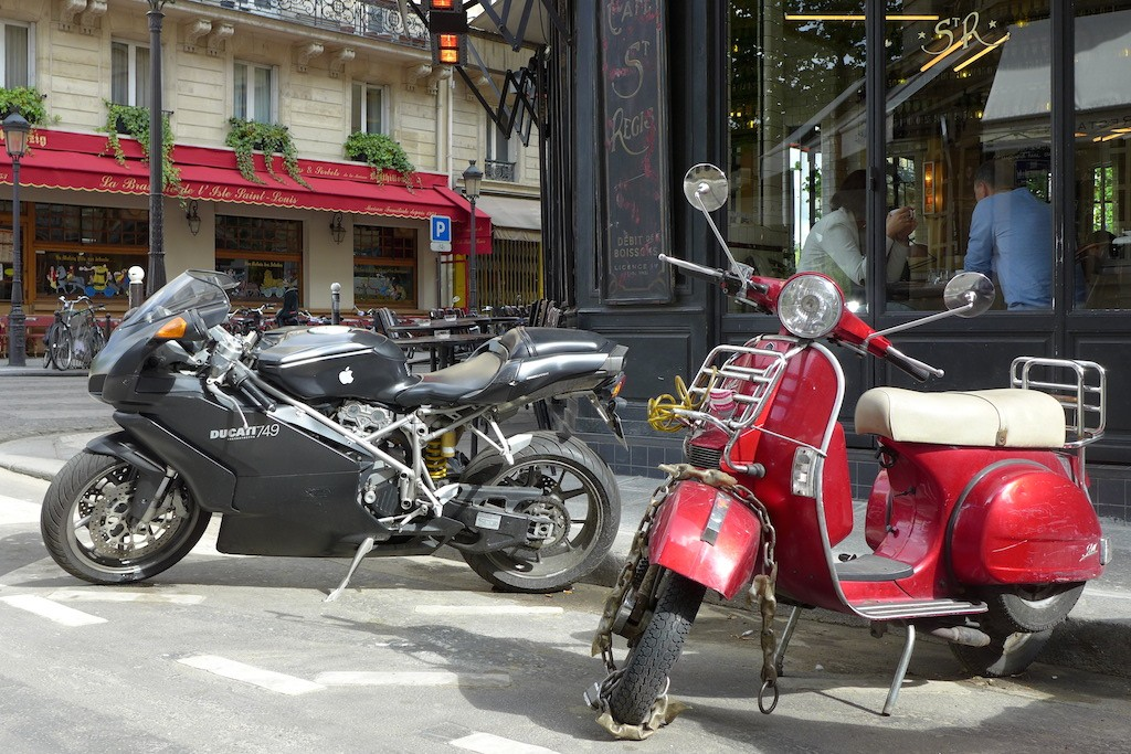 Ile saint louis Paris-brasserie