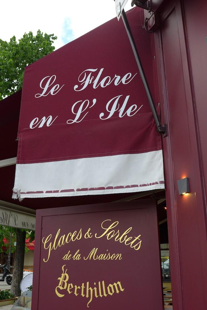 Ile saint louis Paris-cafe