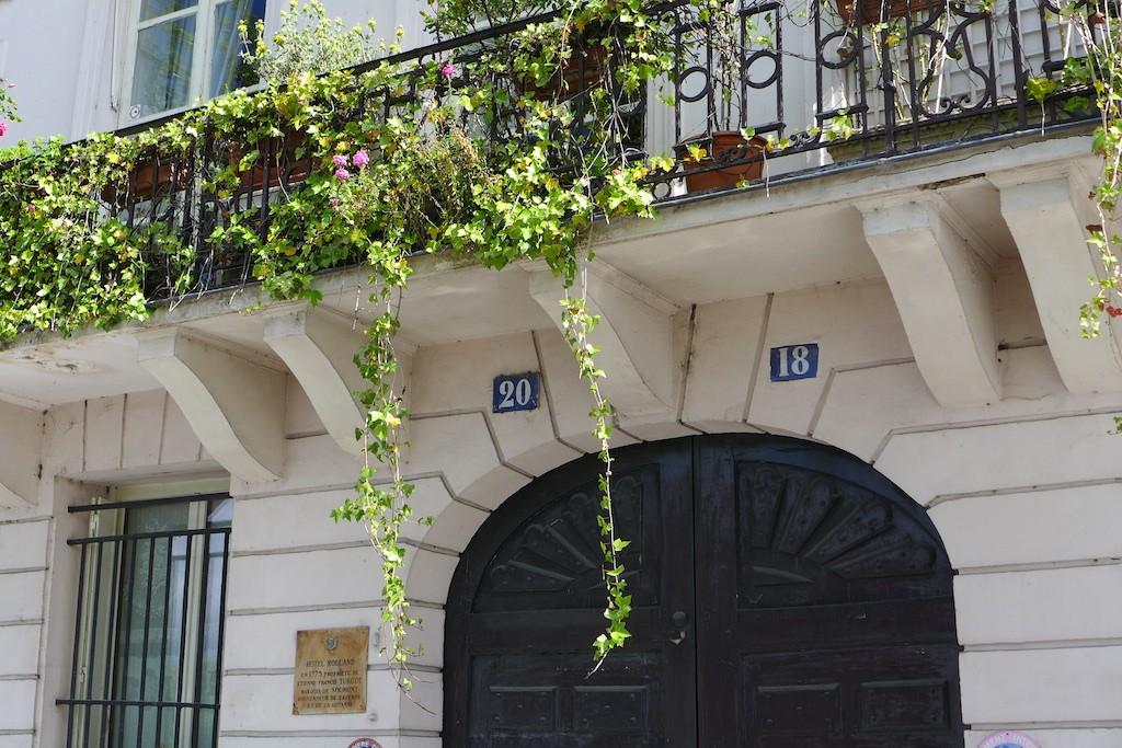 Ile saint louis Paris-quai Orleans