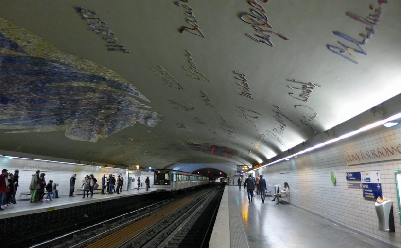 Metro Station of the Month: Cluny La Sorbonne (line 10)