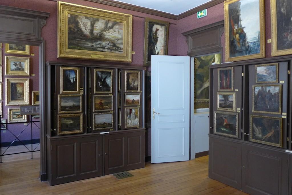 musee gustave moreau paris-groundfloor