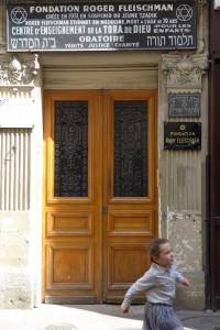 Jewish area Marais Paris- Rue des Ecouffes