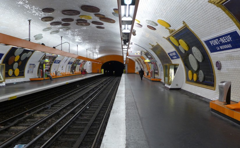 Metro Station of the Month: Pont-Neuf La monnaie (line 7)