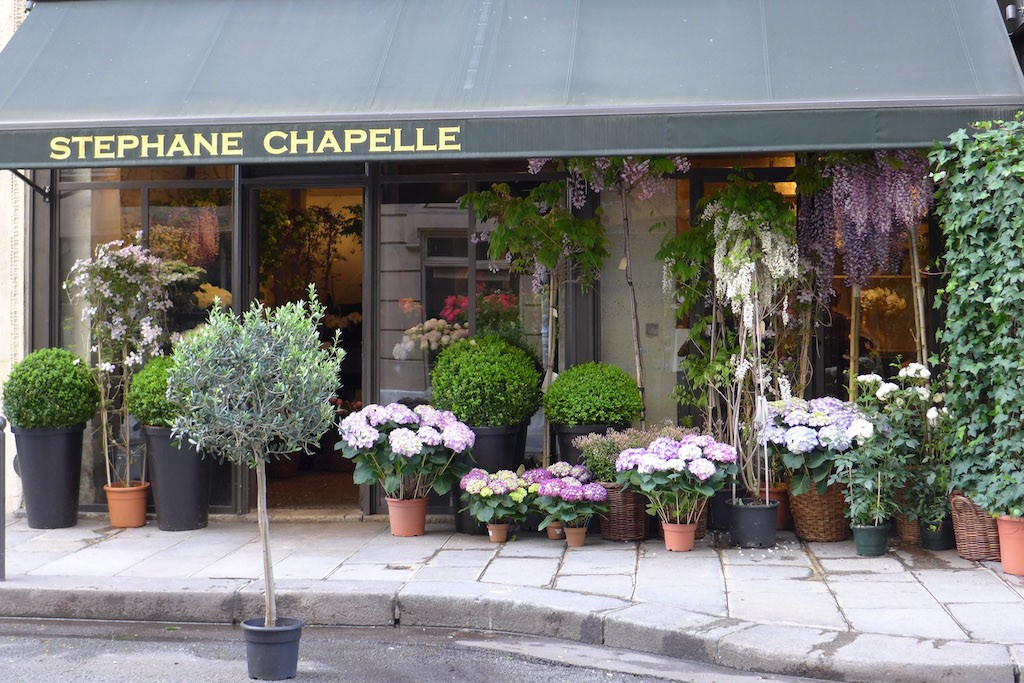 Stephane Chapelle Flower Shop Paris