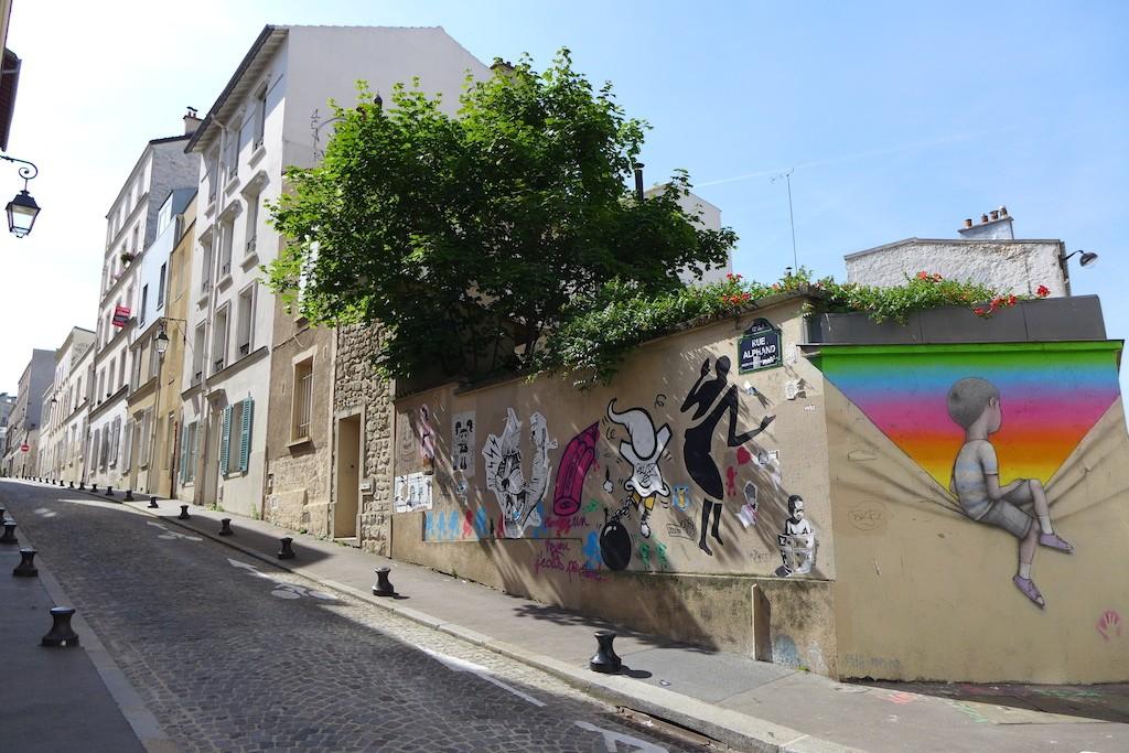 Butte aux cailles Paris - Rue Alphand