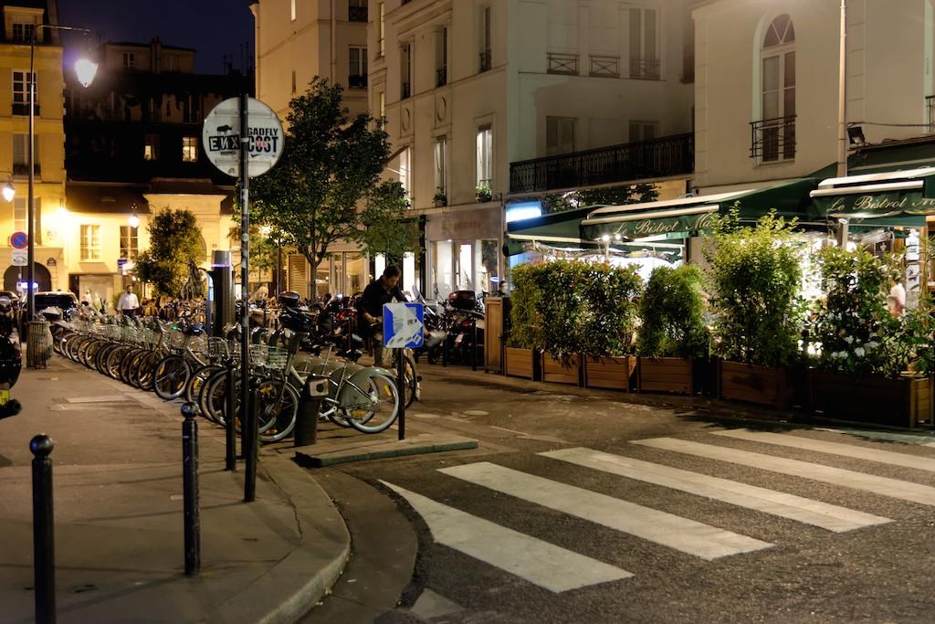 Pont des Arts-Paris-Rue Mazarine
