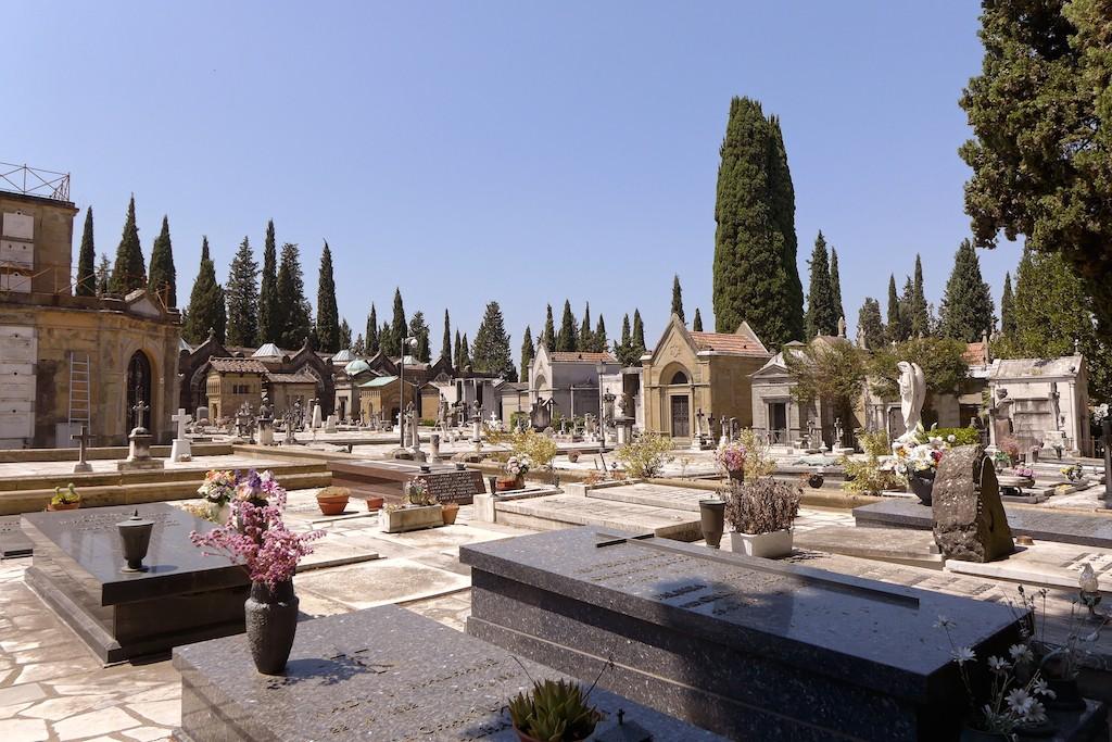 Florence-San Miniato-the cemetery