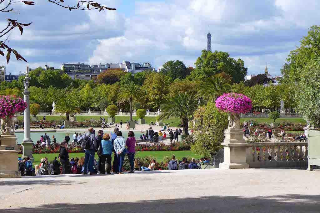 Jardin du Luxembourg-Paris-view