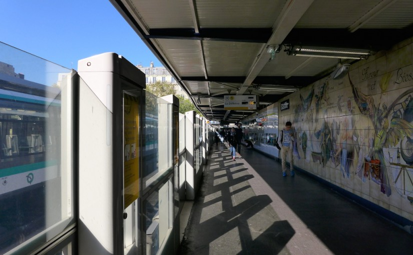 Metro-Bastille-Paris