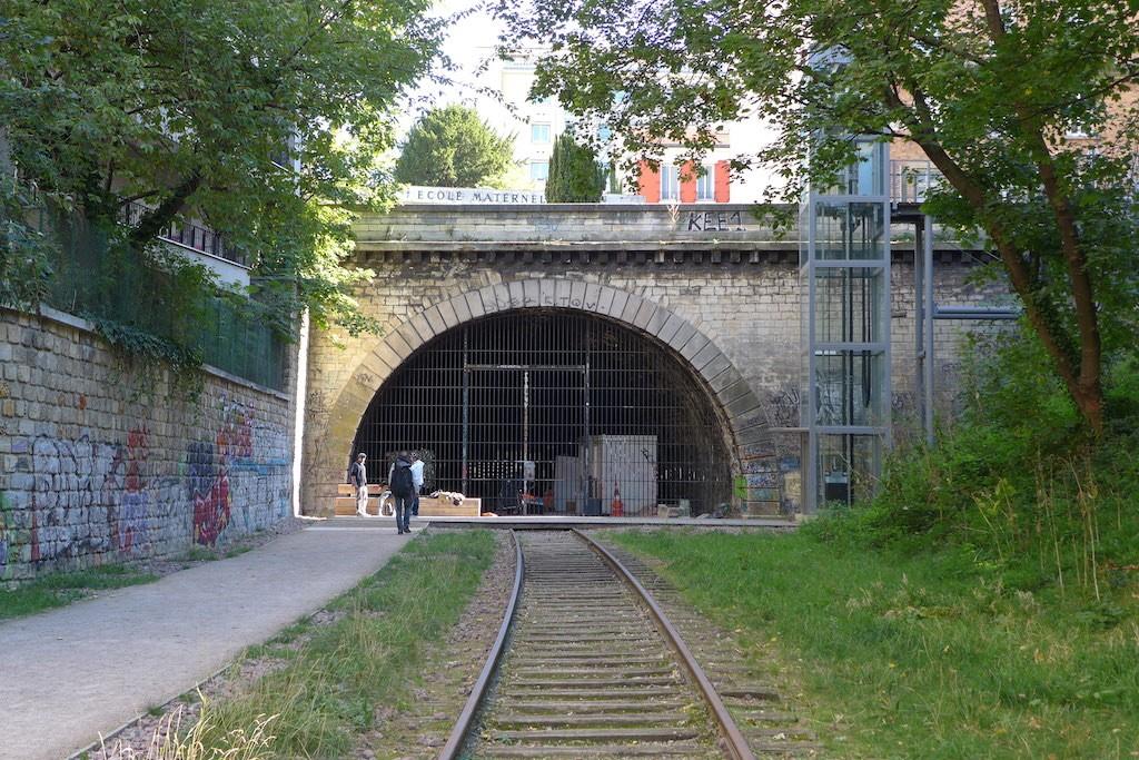 Petite Ceinture du 15eme-Tunnel rue Olivier de Serres