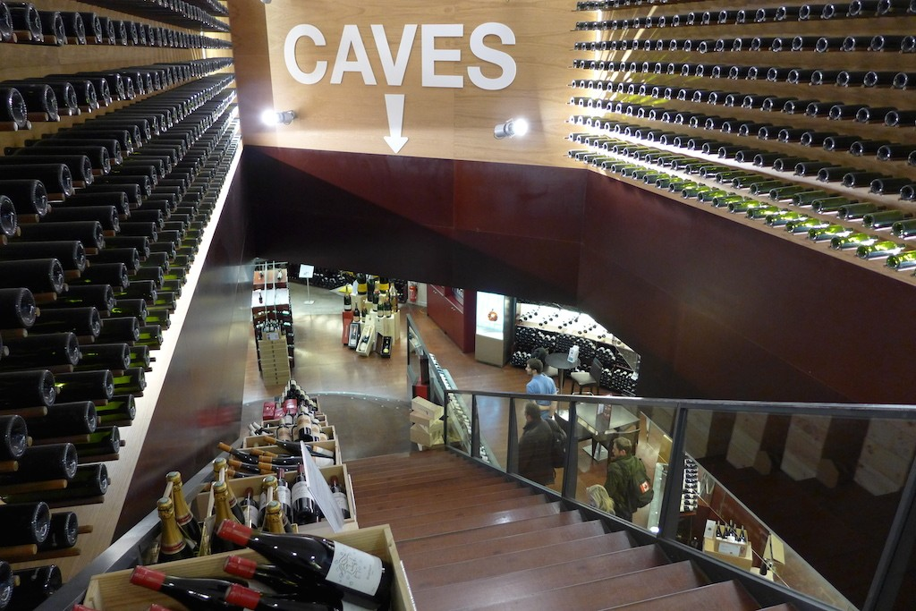 Lavinia-Paris-The 'caves' on the basement