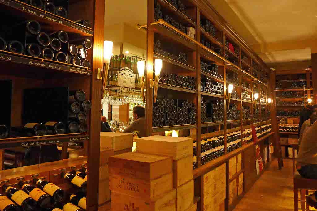 Legrand Filles et Fils-Paris-The Vinotheque and the Bar