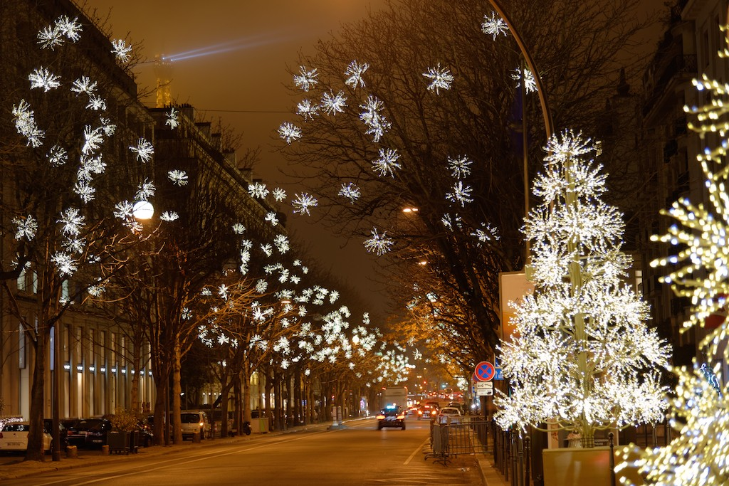 Christmas Lights In Paris.The Best Of Paris For The Festive Season Good Morning