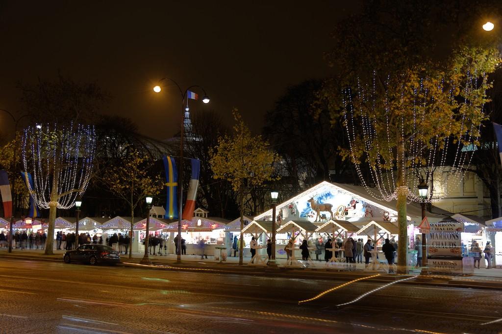 Festive Season - Paris - Christmas market on the Champs Elysées