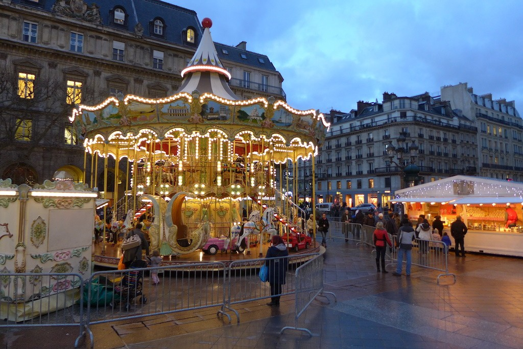 Festive Season-Paris-Merry go round