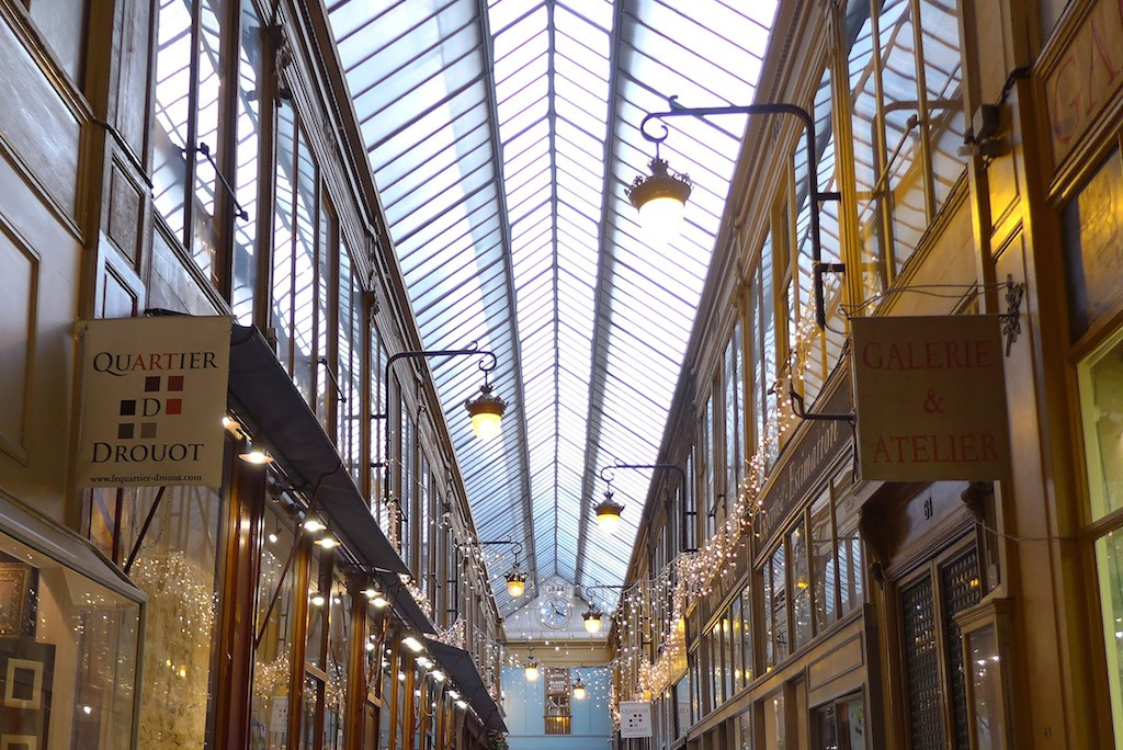 Passage Jouffroy-Paris-The glass roof