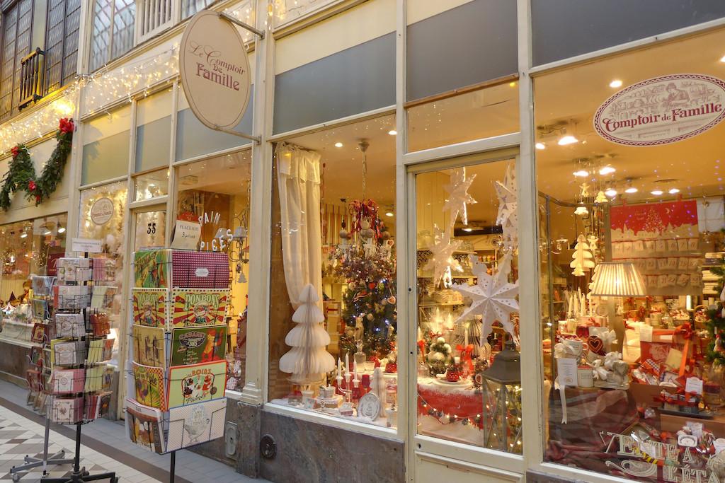 The best of paris for christmas a walk in the passages couverts good morning paris the blog - Comptoir de famille paris ...