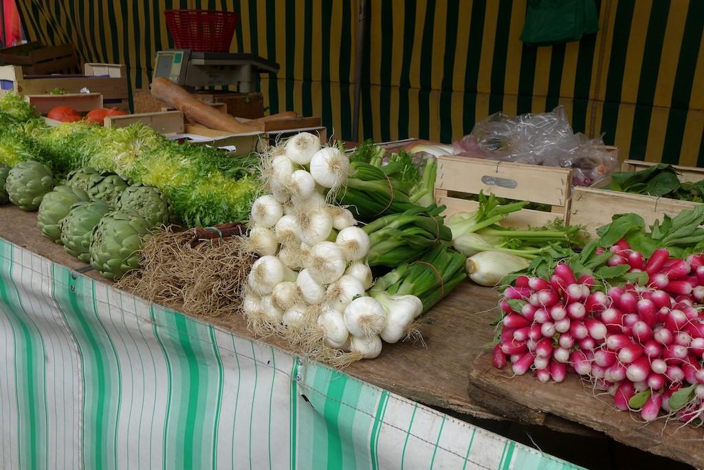 Marche Monge Paris-market gardening
