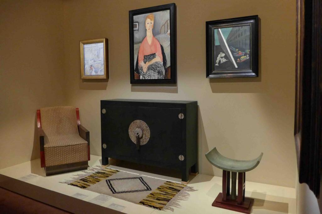 Vivre pour l'art - Room Jacques Doucet - Modigliani
