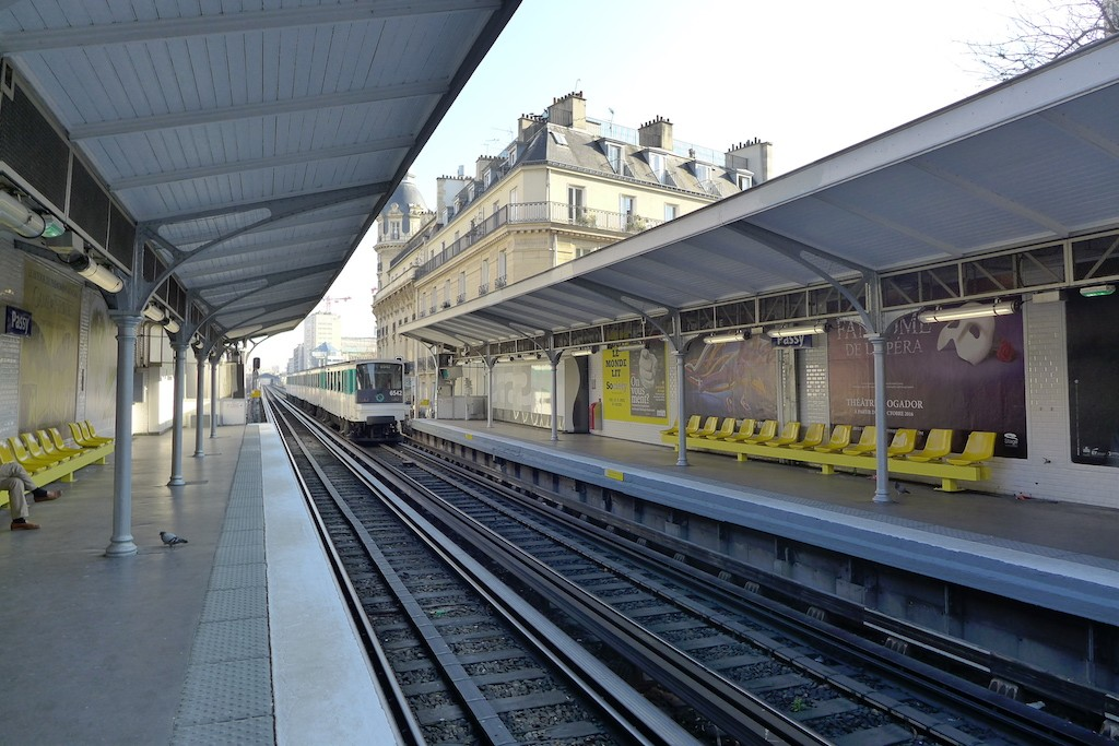 Exploring Passy-Paris- The metro station Passy