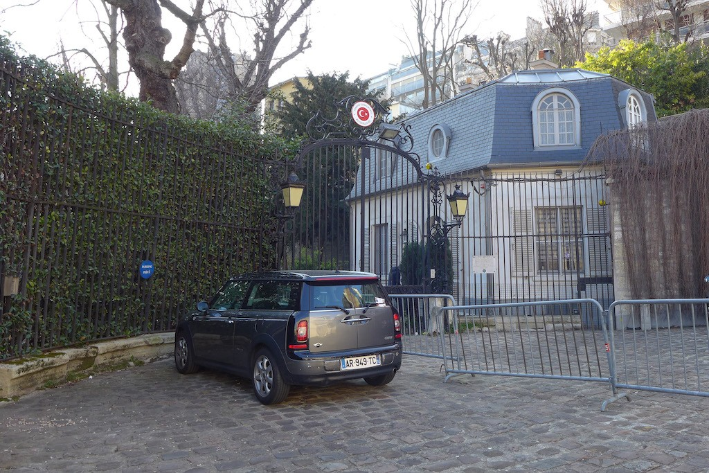 Exploring Passy-Paris- The Turkish Embassy