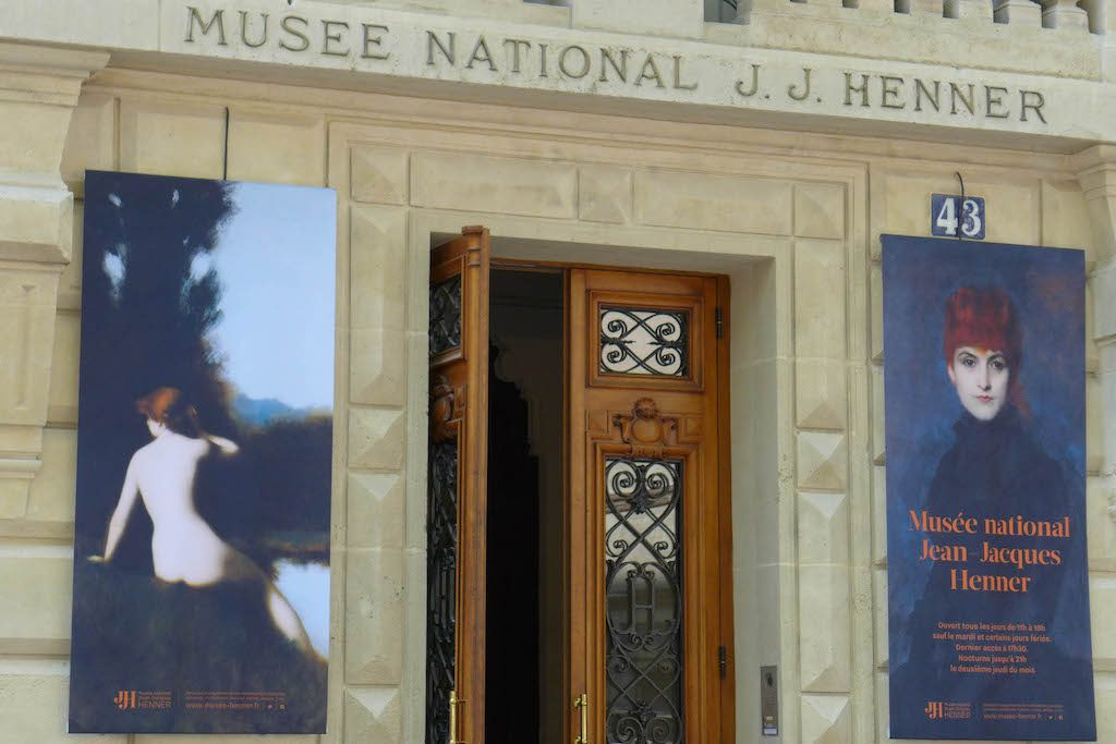 Musee Jean Jacques Henner-Paris-Entrance