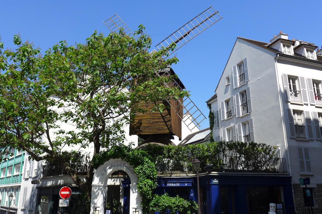 Montmartre- The Moulin Radet-rue Lepic