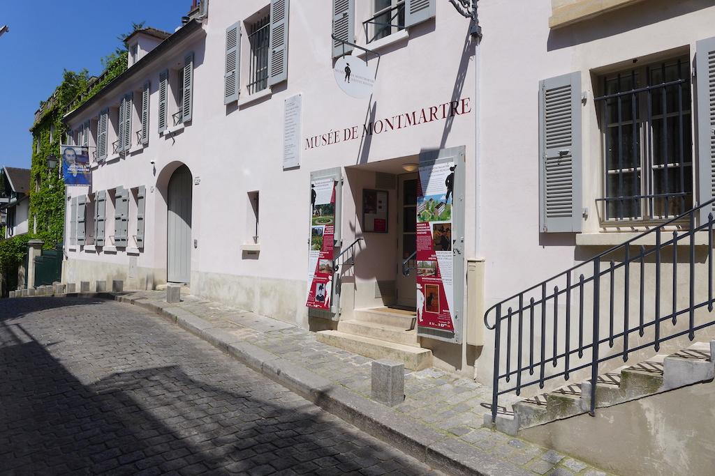 Montmartre-Rue Cortot- Musee de Montmartre