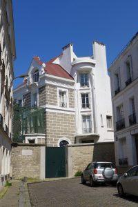 Montmartre-Maison de Dalida- rue Orchampt