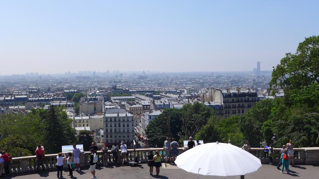 Montmartre-Paris-View from the Sacre coeur