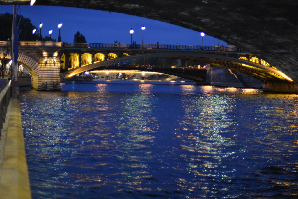 Paris Plages by Night - The Pont Notre Dame