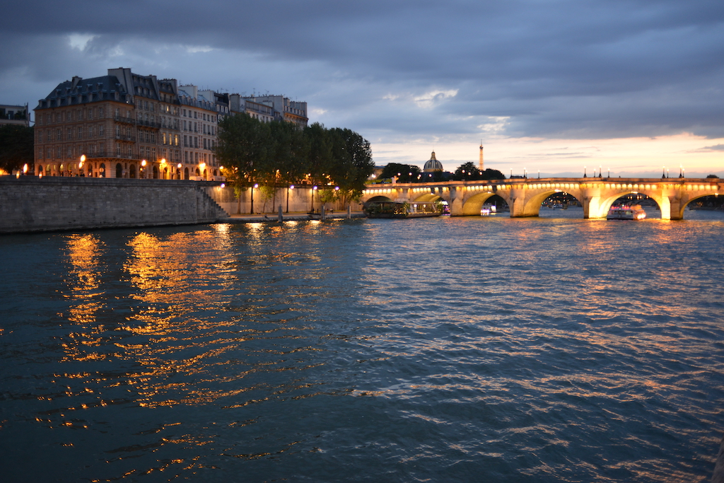 View on the EIffel Tower from Paris Plages