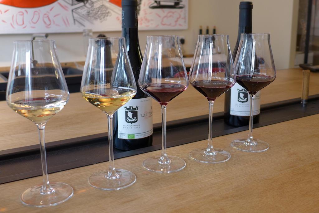 Les Vignerons Parisiens-Winery-Wine tasting