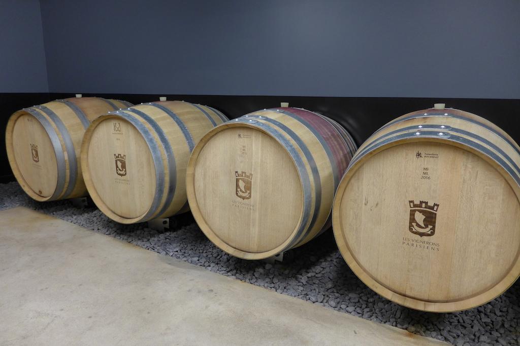 Les Vignerons Parisiens-Winery-Paris-Maturing