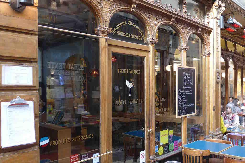 Canard et Champagne - Passage des Panoramas - Paris