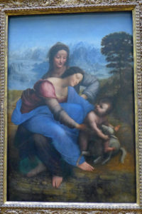 Musée du Louvre - Leonardo Da Vinci - Virgin and Child with Saint Anne