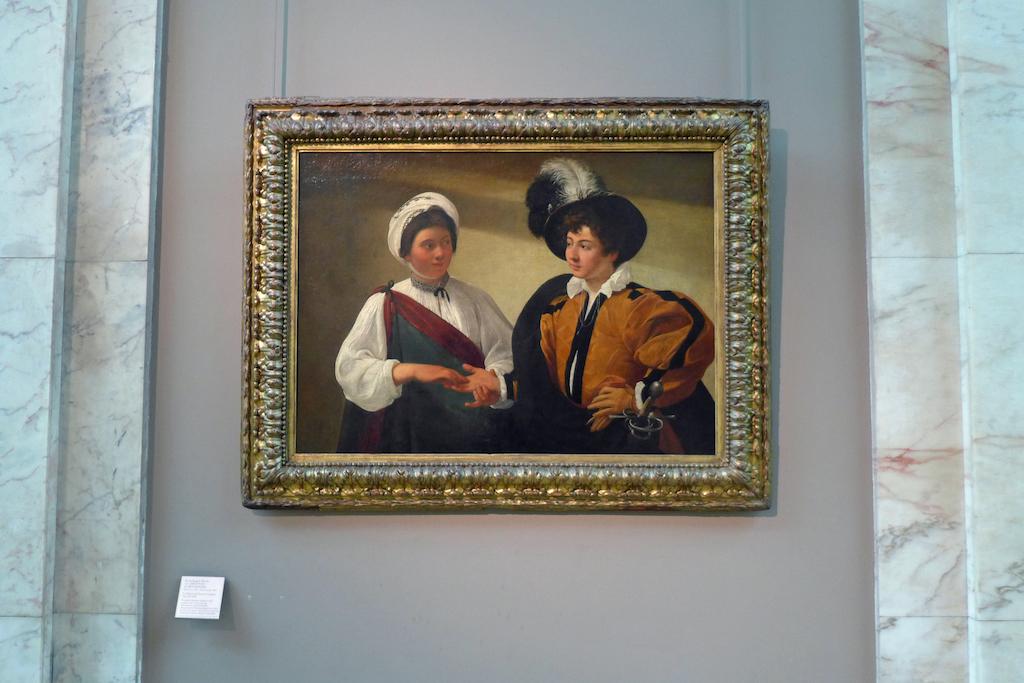 Musée du Louvre - Caravage - The Fortune Teller