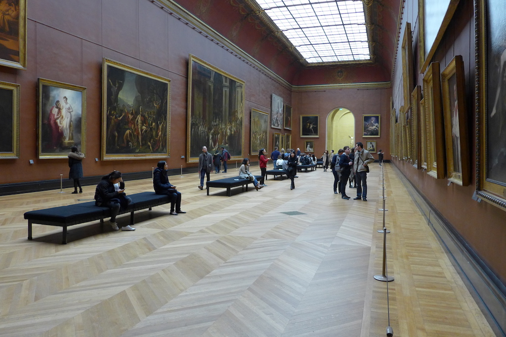 Musée du Louvre - The Red Rooms - French Paintings
