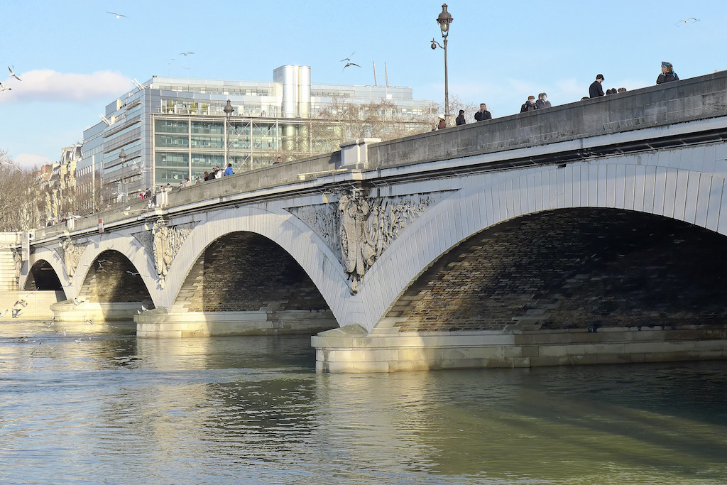 The Pont d'Austerlitz