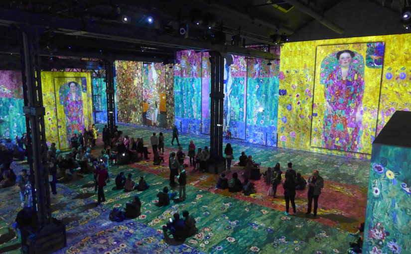 New and Unique in Paris: The Atelier des Lumières